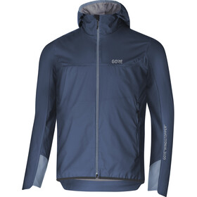 GORE WEAR H5 Windstopper Insulated Hooded Jacket Men deep water blue/cloudy blue